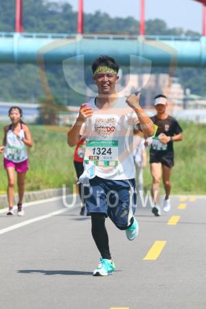 小碧潭公園附近-1():gmomo愛媽咪公益路跑,1324,10K,楊詠勝