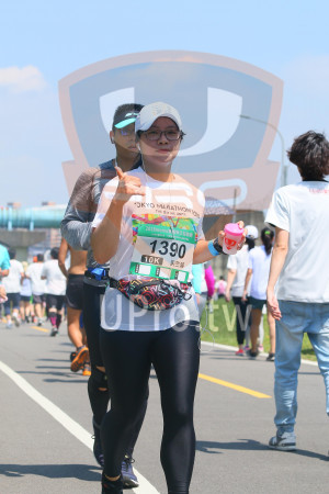 小碧潭公園附近-4():つKYO MARATHON),THE WE UNITE,201 8momolER公益路跑,1390,10K,吳竺蓉