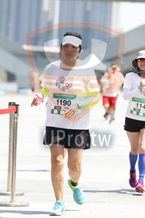 終線3(AKai):2018momo愛媽咪公益路跑,114,1190,10K,高雅