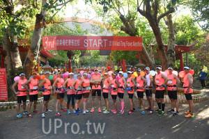 會場出發(中年人):eoi ong lower Marathon,馬拉松,身操,賓致詞,公里起跑,里起跑,理組頒獎,里組頒奬,動結束