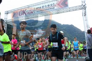 起跑(JEFF):OKRUN[2018爱在泰安1,I'M IN #OKRUN,RUN第二屆忠訓國際集團路跑活動,70,030