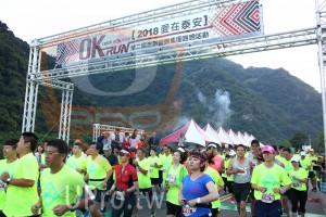 起跑(JEFF):I'M IN #OKRUN,NRUN第二屆忠訓國際集團路跑活動