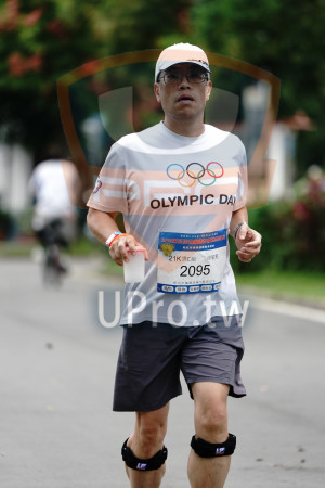 ():OLYMPIC DA,HONL,新北市樂跑運難推廣 ,1K男C組,徐敏墾,2095