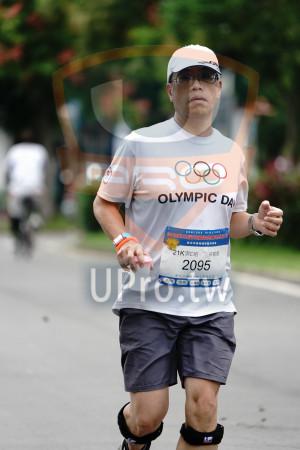 ():OLYMPIC D,NONLUDE ARATHON,新北市樂跑運動推廣 ,1K男C組,徐敏堅,2095