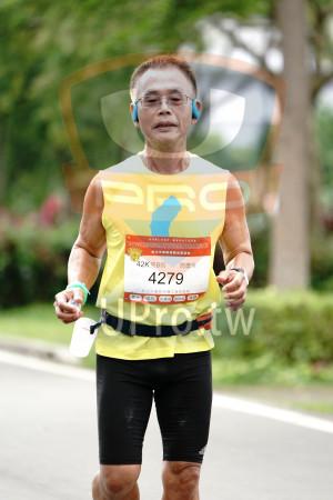 河濱公園- 10:01-10:30(大仟):新北市樂跑運動推廣協會,42K男B組,周慶芳,4279