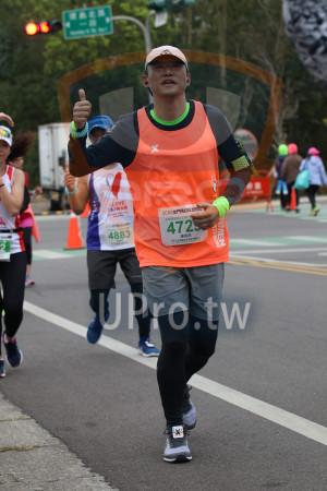 ():LOVE,TAIWAN,2019金門馬拉松,,半程馬拉松21.097,4883,鍾翰昌