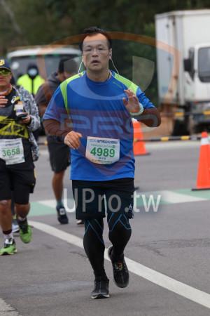 ():2019金門馬拉松,半程馬拉松21.097 KM M,4989,3658,梁子銓