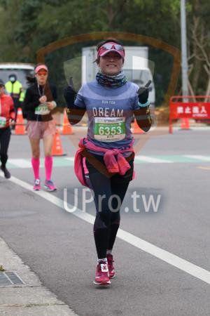 ():RUN FOR,DREAM,雲土趣入,2019金門馬拉松,6353