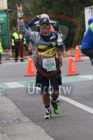 ():2019金門馬拉松 m,米程馬拉松21.097 SKM郵,3658