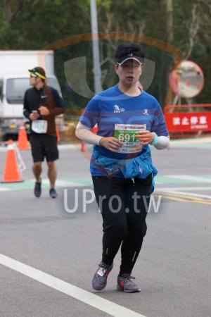 金門馬拉松-終點前500公尺10(MING JYUN WANG):2019金門馬拉松tser,半程馬拉松21.0975,91