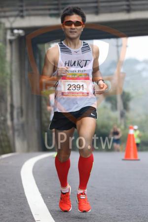 賽道5K處,補給站前01(Ming Jyun Wang):HURT,ince 2017,大桔大利,2391