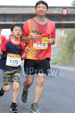 賽道5K處,補給站前04(Ming Jyun Wang):.,@fURI窩大利娥,11鄕半程馬,仁松,'HOTO,VIP,046,11KM健跑組男生,,睿,1175