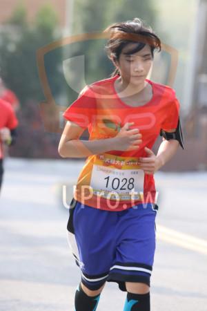 ():大桔大利….,11KM健跑組女生組,1028