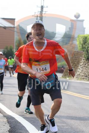 賽道20K處,峨眉湖步道02(Ming Jyun Wang):大桔大秒,11KM健跑組男生組,王髖英,1144