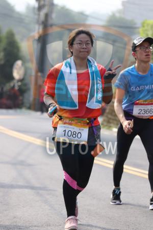 賽道20K處,峨眉湖步道02(Ming Jyun Wang):GARM,2366,11KM健跑組女生担,蘇芸嬋,1080,大枯大,奬tre
