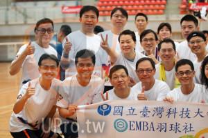 開幕及熱身操(JEFF):。國立臺灣科技大,CEMBA羽球社